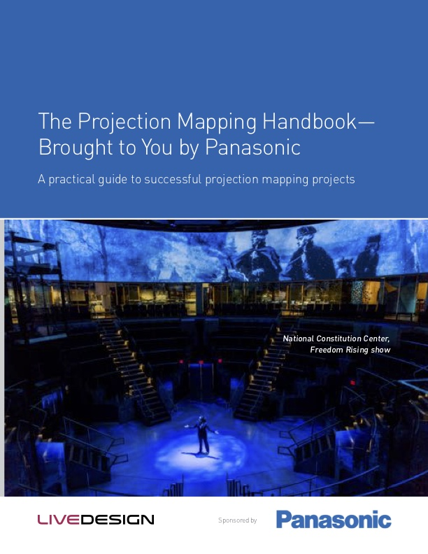 Projection Mapping Guide from Panasonic